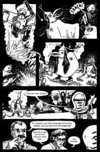 Boscians: Robots Aliens Monsters Comic Vol. 1 page 1 by David Borden