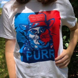 Make America Purr Again T-shirt
