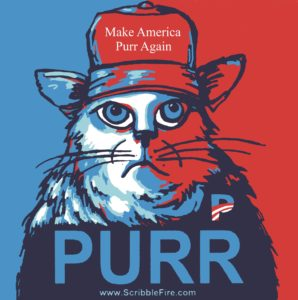 Make America Purr detail