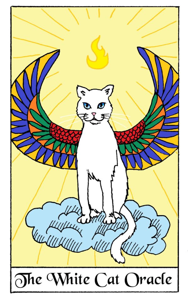 The White Cat Oracle Wild Card
